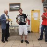 Yannis Aubry, le souriant vainqueur du tournoi principal.