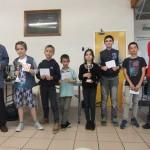 Les lauréats du tournoi des jeunes.