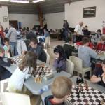 Des parties acharnées dans le tournoi jeunes.