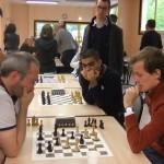 Fin de partie à suspense entre Christophe Desgranges, futur 3ème, et Benjamin Bertrand.