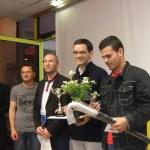 Romain remporte le tournoi devant Alejandro Restrepo et Christophe Desgranges.