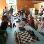 Axel, Charlie et Marius au cœur du tournoi Poussins.