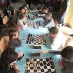 Le tournoi Poussins regroupait huit équipes.