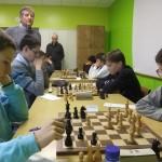 Damien Le Jallé (à droite), auteur d'un début de tournoi parfait chez les Benjamins.