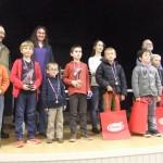 Les Petits Poussins, très fiers de leur tournoi.