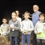 Beau tournoi pour Amaury (4ème) et Corentin (2ème)