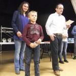 Lucas Thubert, champion petit-poussin