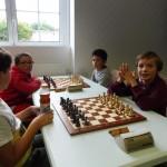 Bonne ambiance dans le tournoi jeunes.