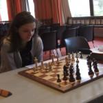 Andréa réalise une performance en battant Bernard Bezy.