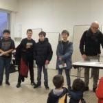 Les vainqueurs du tournoi jeunes.